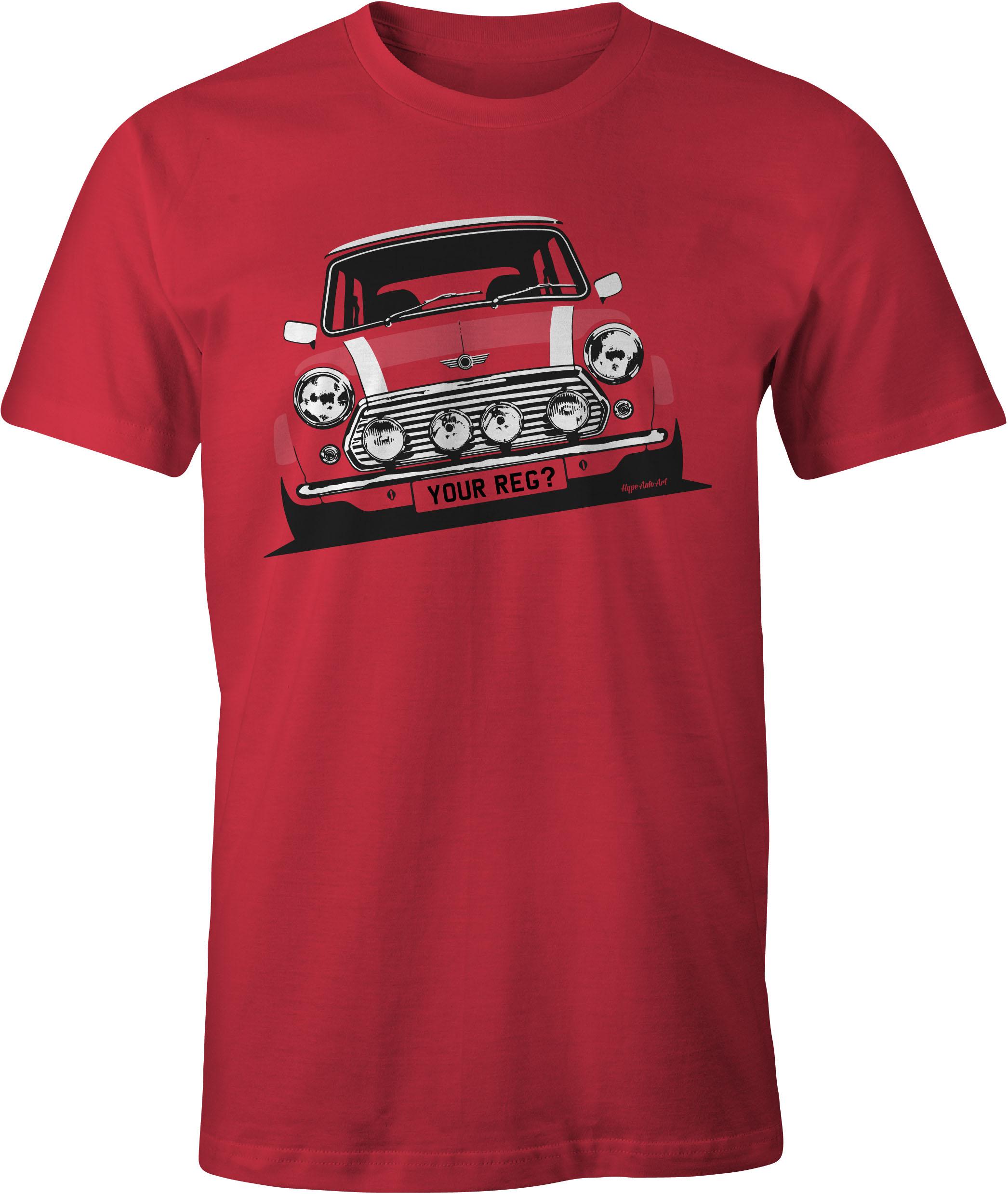 Mini Cooper T Shirt Iconic Ironic