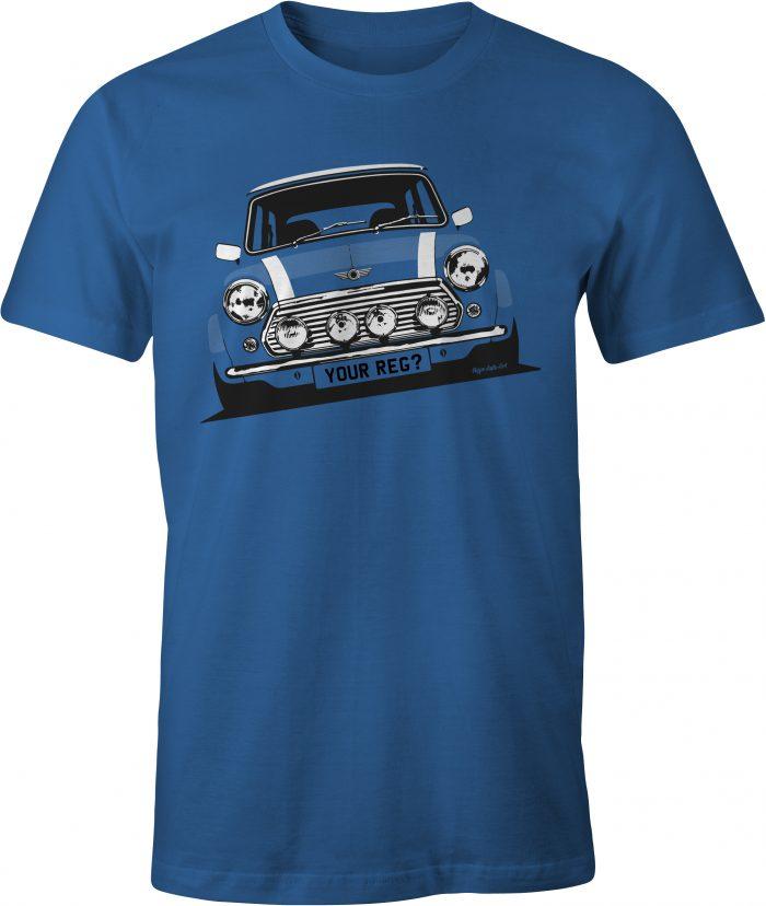 Mini Cooper Royal Blue