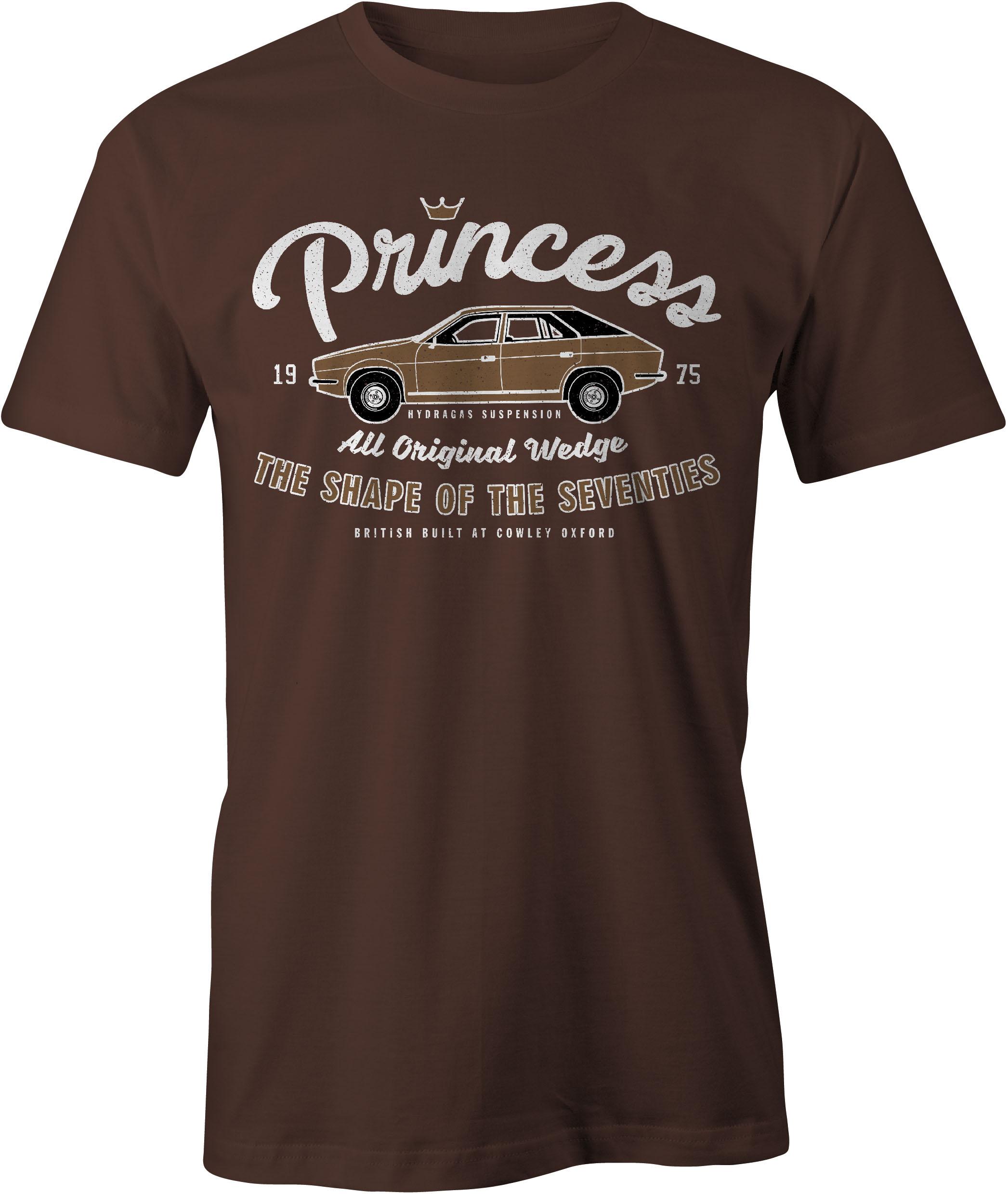 Princess T Shirt in Chocolate