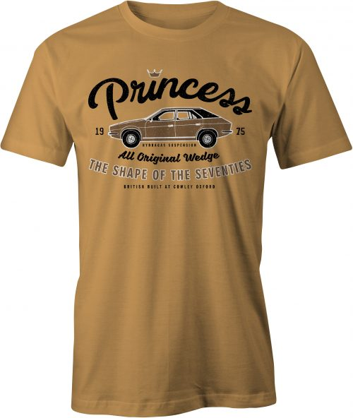 Princess T Shirt in Old Gold