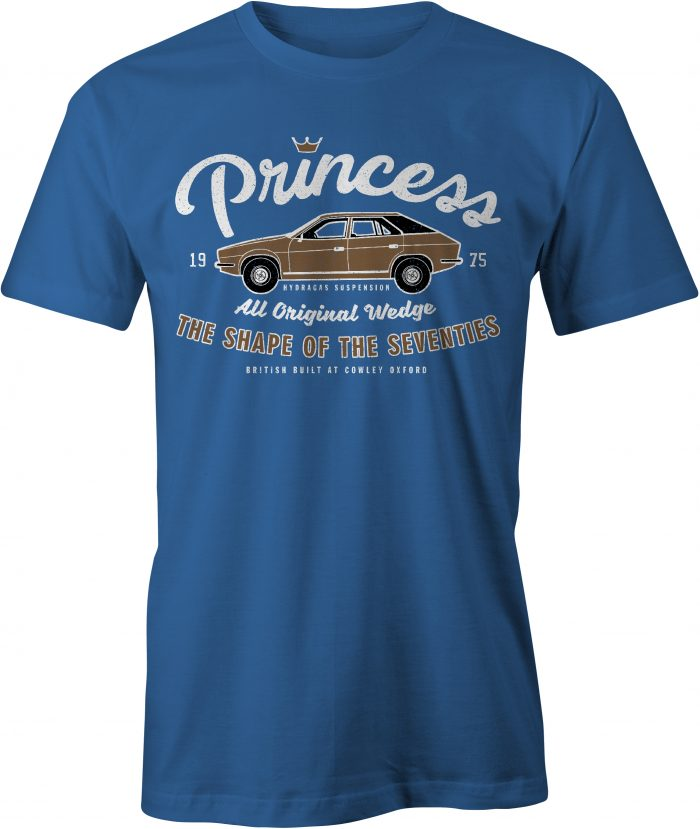 Princess T Shirt in Royal Blue
