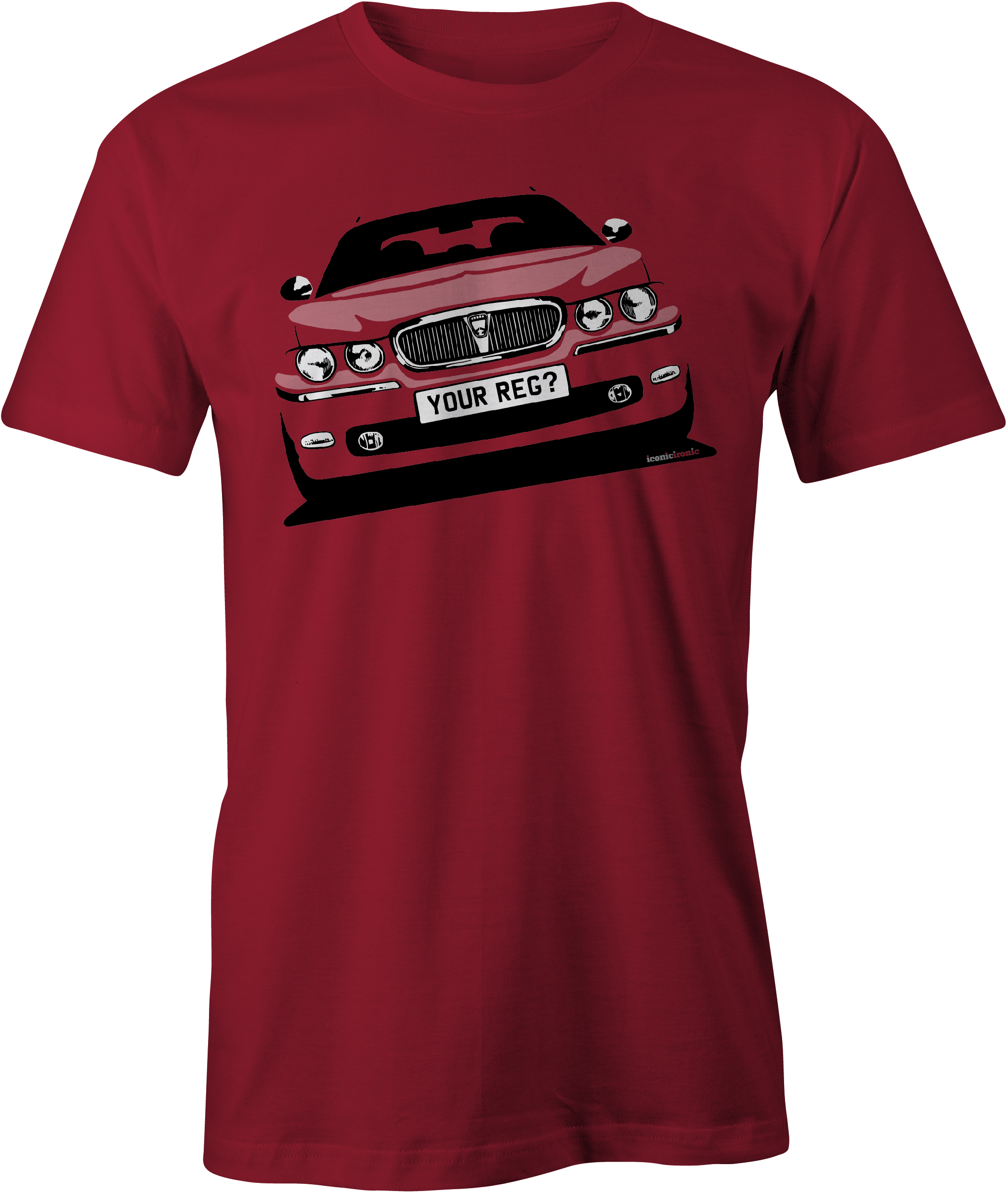 Rover 75 Cardinal Red