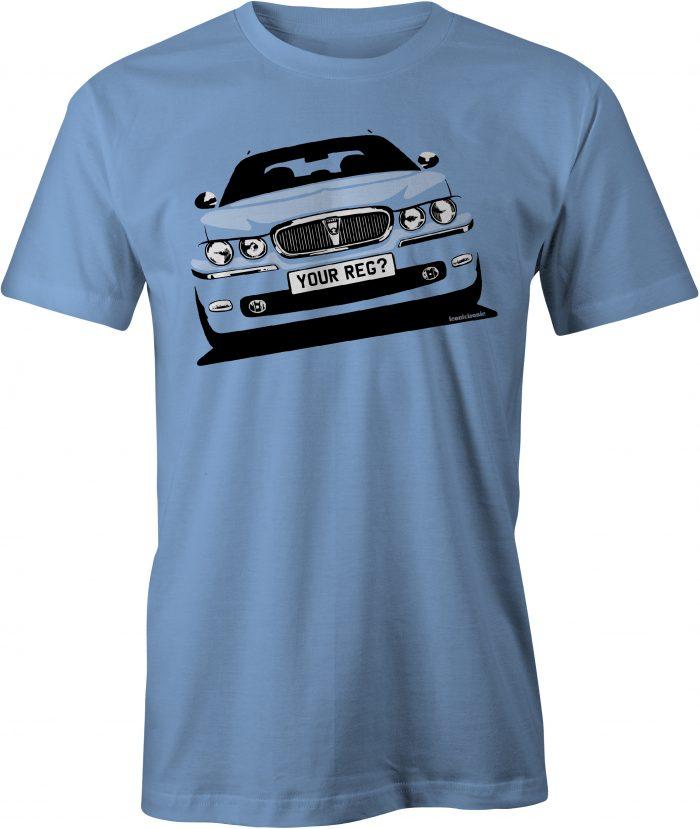 Rover 75 Carolina Blue