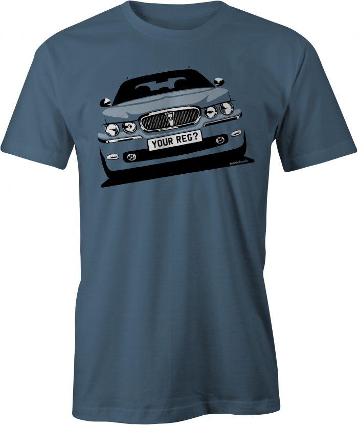Rover 75 Indigo Blue