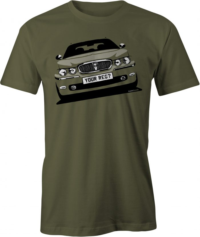 Rover 75 Military Green