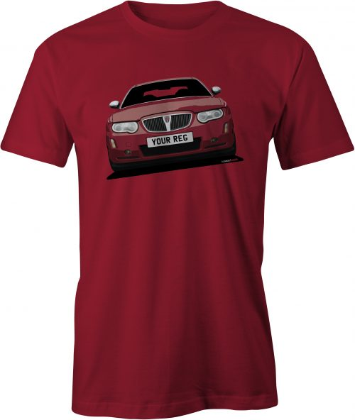 Rover 75 Mk2 Cardinal Red