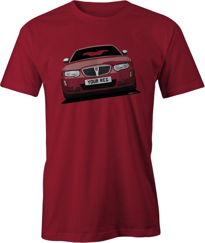 Rover 75 Mk2 Cardinal Red