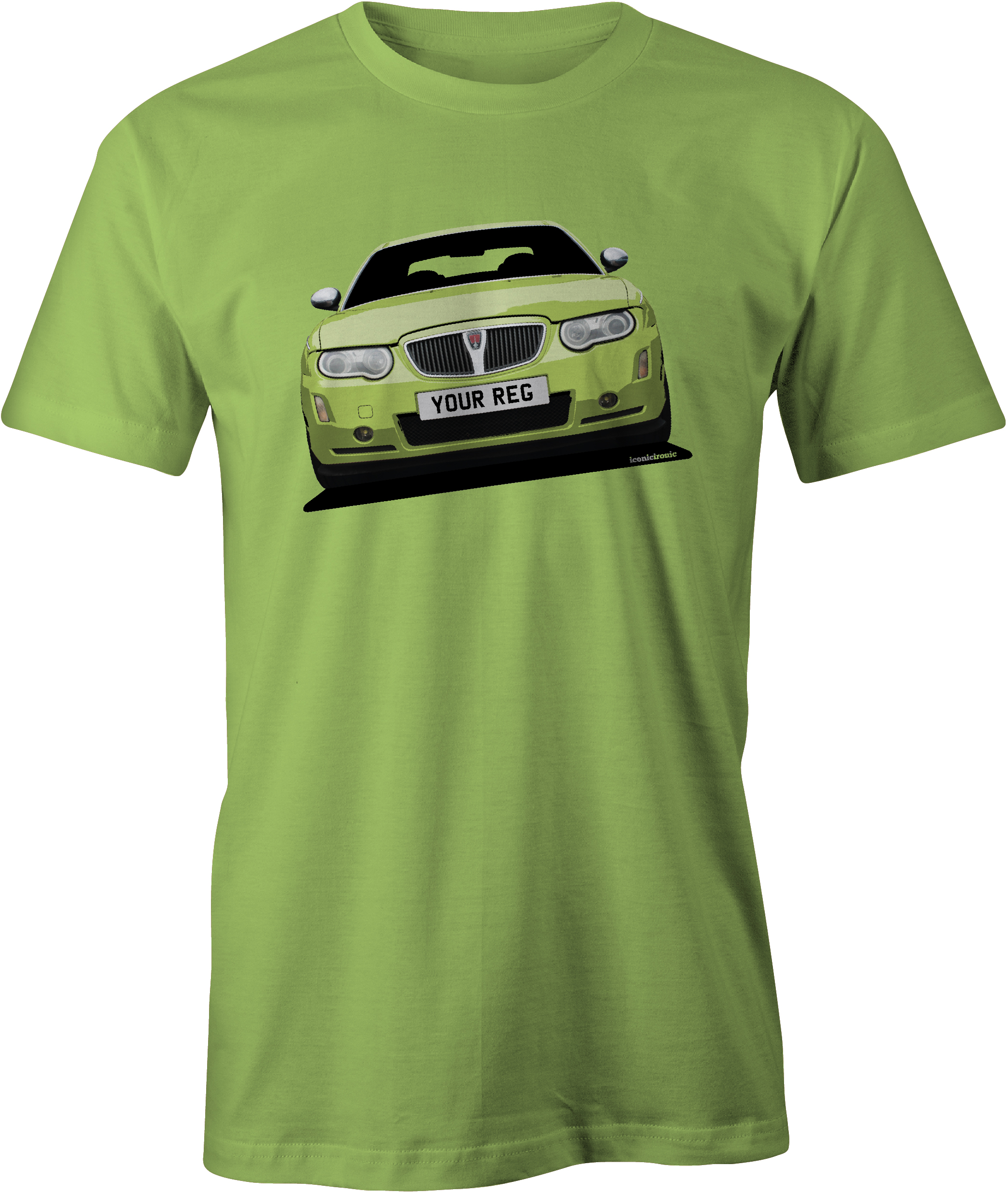 Rover 75 Mk2 Lime