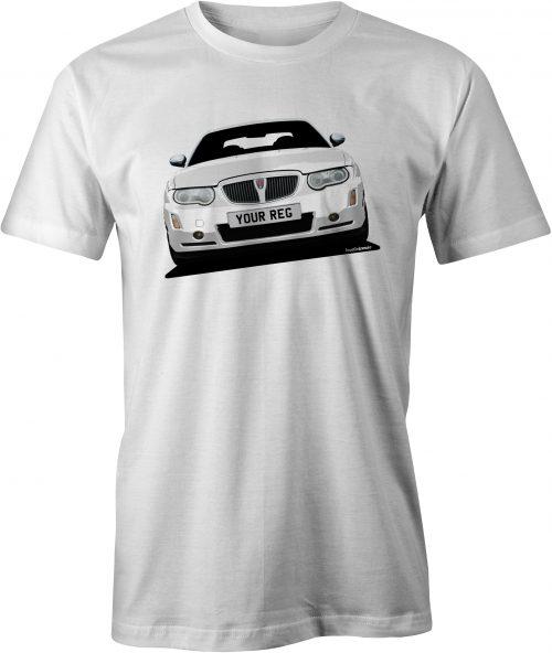 Rover 75 Mk2 T Shirt White