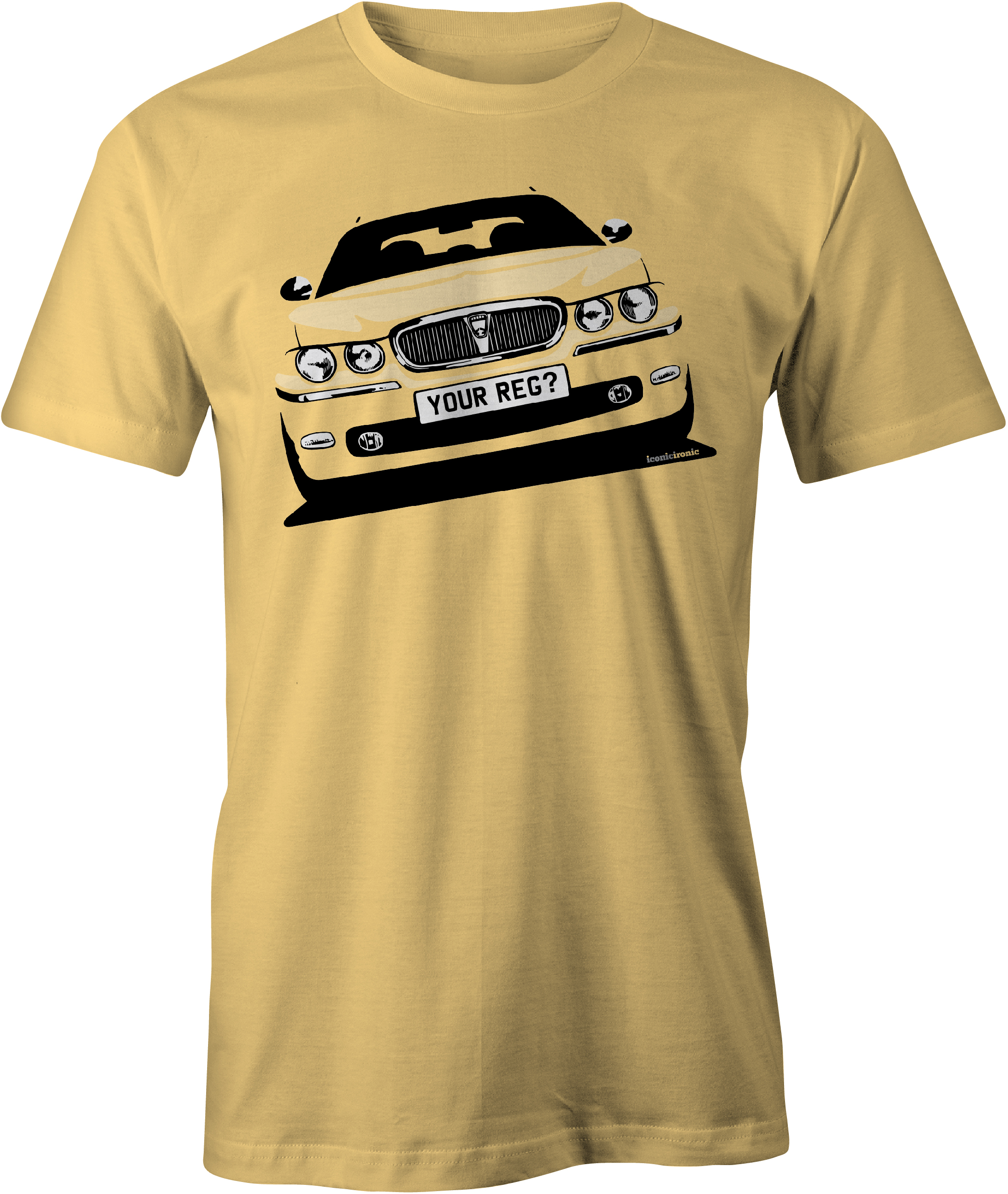 Rover 75 Yellow Haze