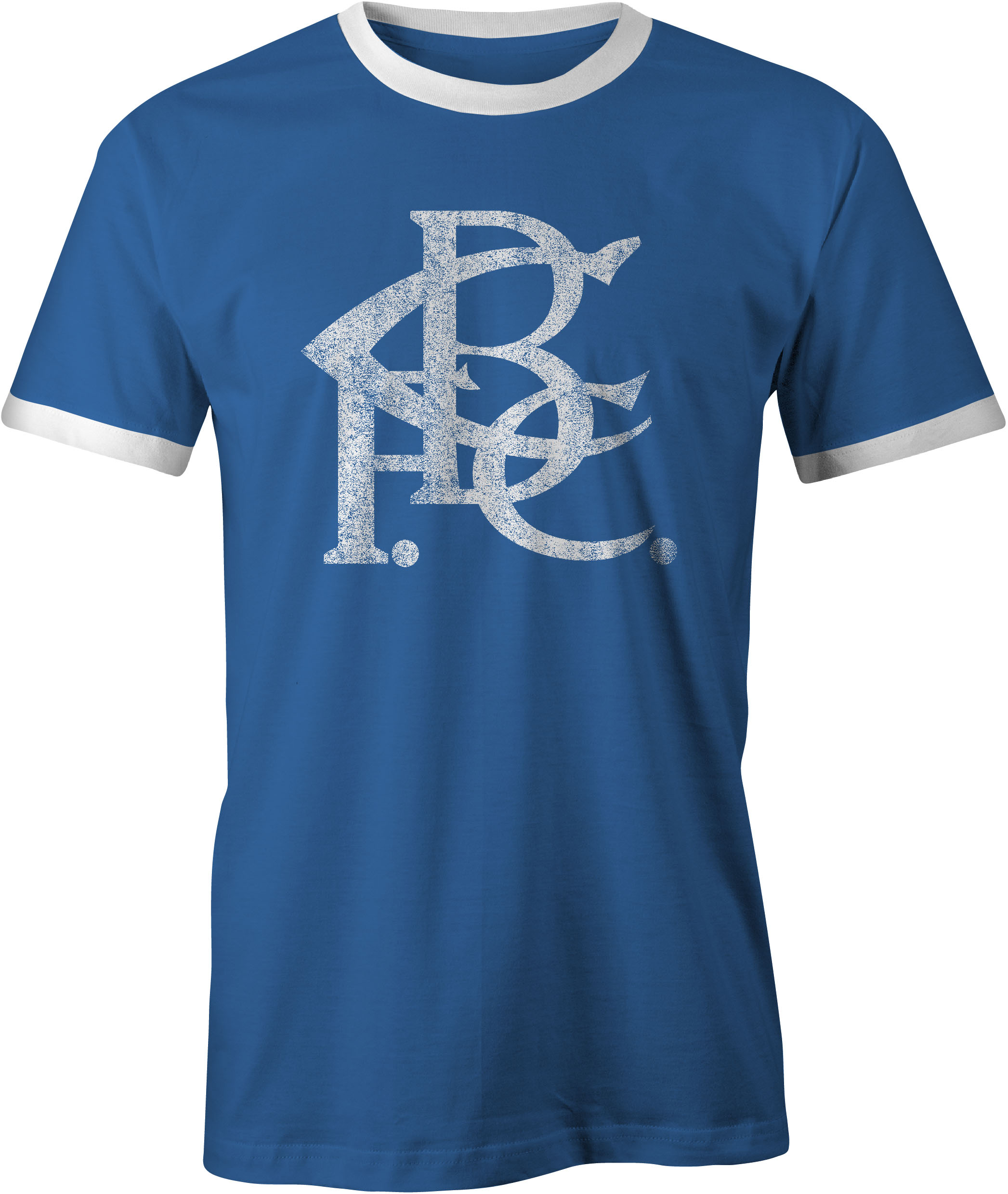 Birmingham City FC Old Style Vintage Printed T-Shirt