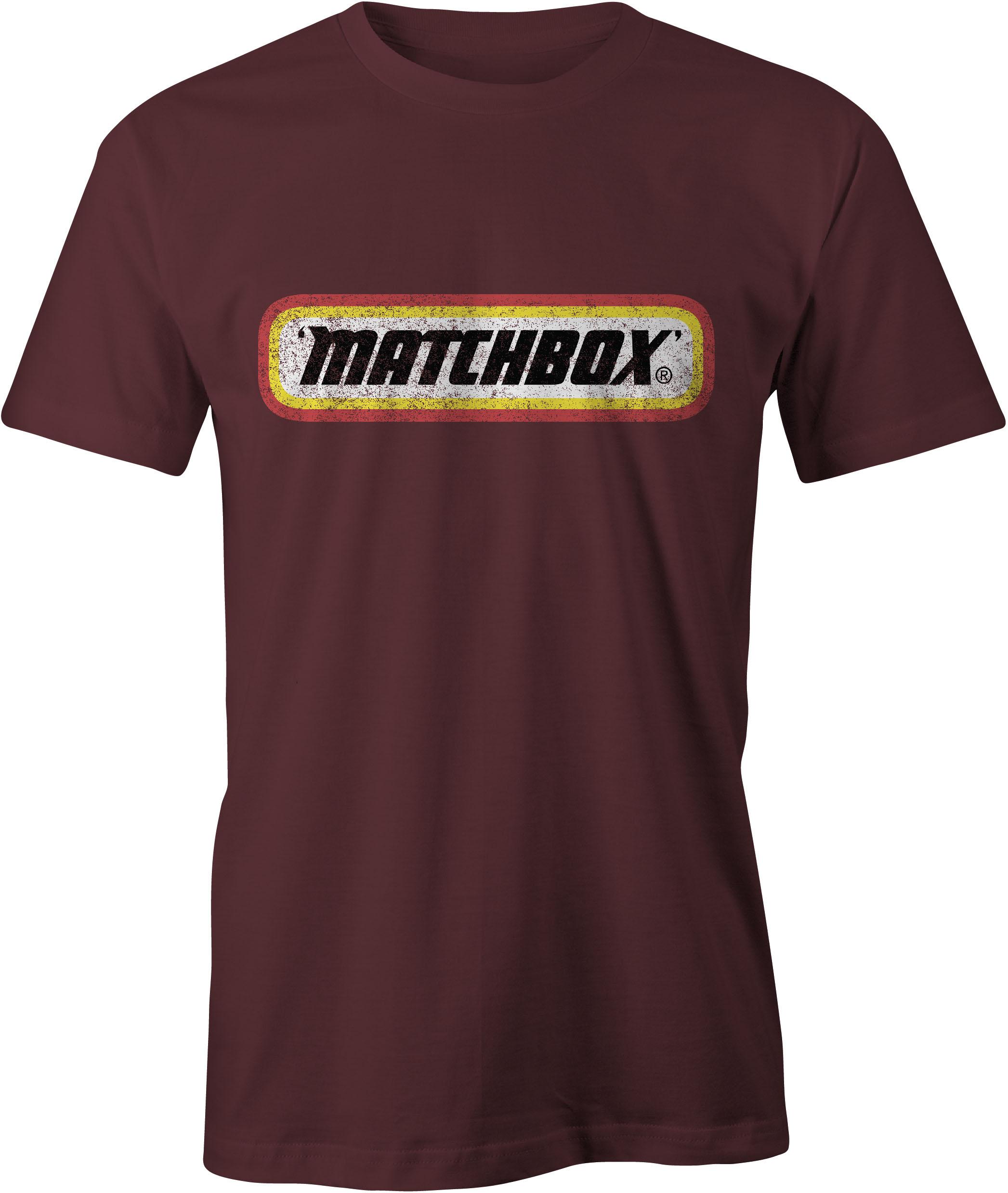 Matchbox T-Shirt Maroon