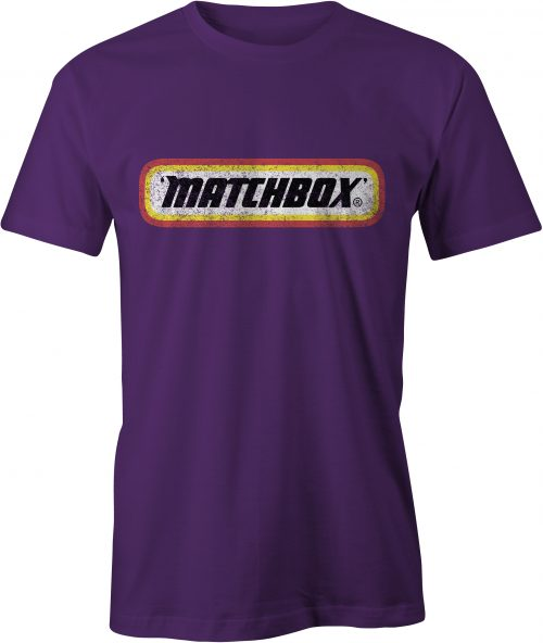 Matchbox T-Shirt Purple