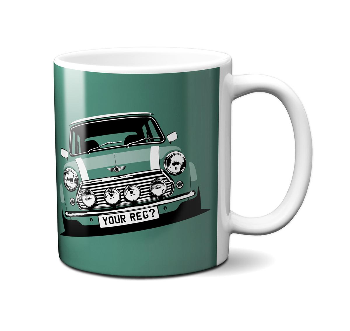 Mini Cooper Almond Green Mug