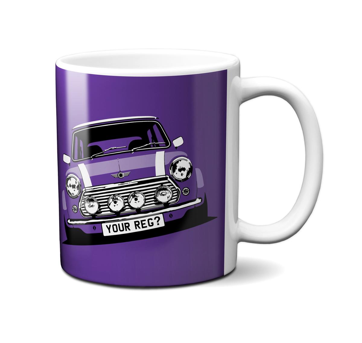 Mini Cooper Amaranth Mug