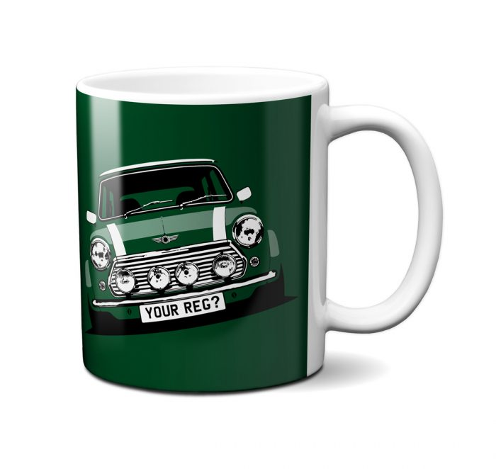 Mini Cooper British Racing Green Mug