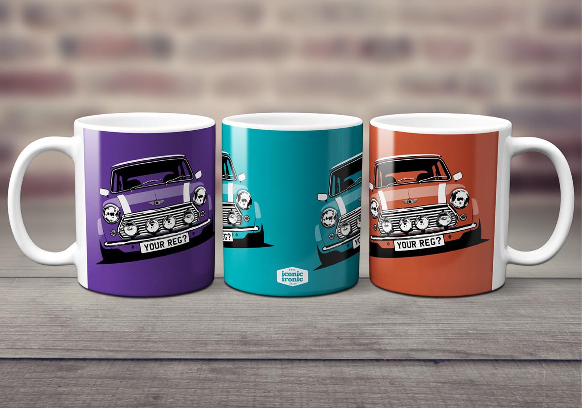 Mini Cooper Mugs header image