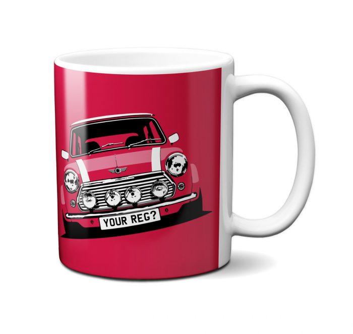 Mini Cooper Solar Red Mug