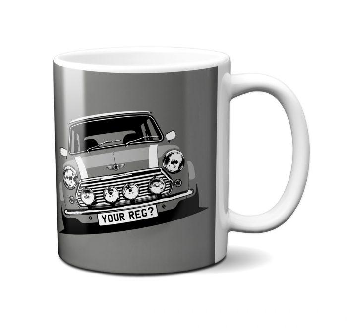 Mini Cooper Yukon Grey Mug