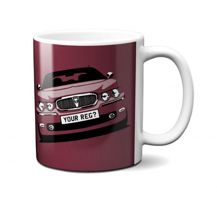 Rover 75 Mug Damson Red