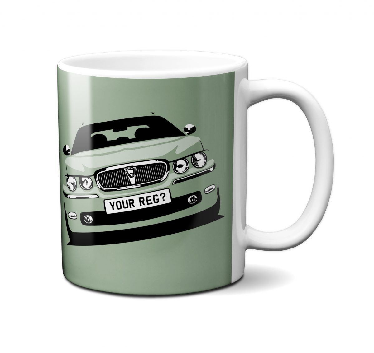 Rover 75 Mug Moonstone Green