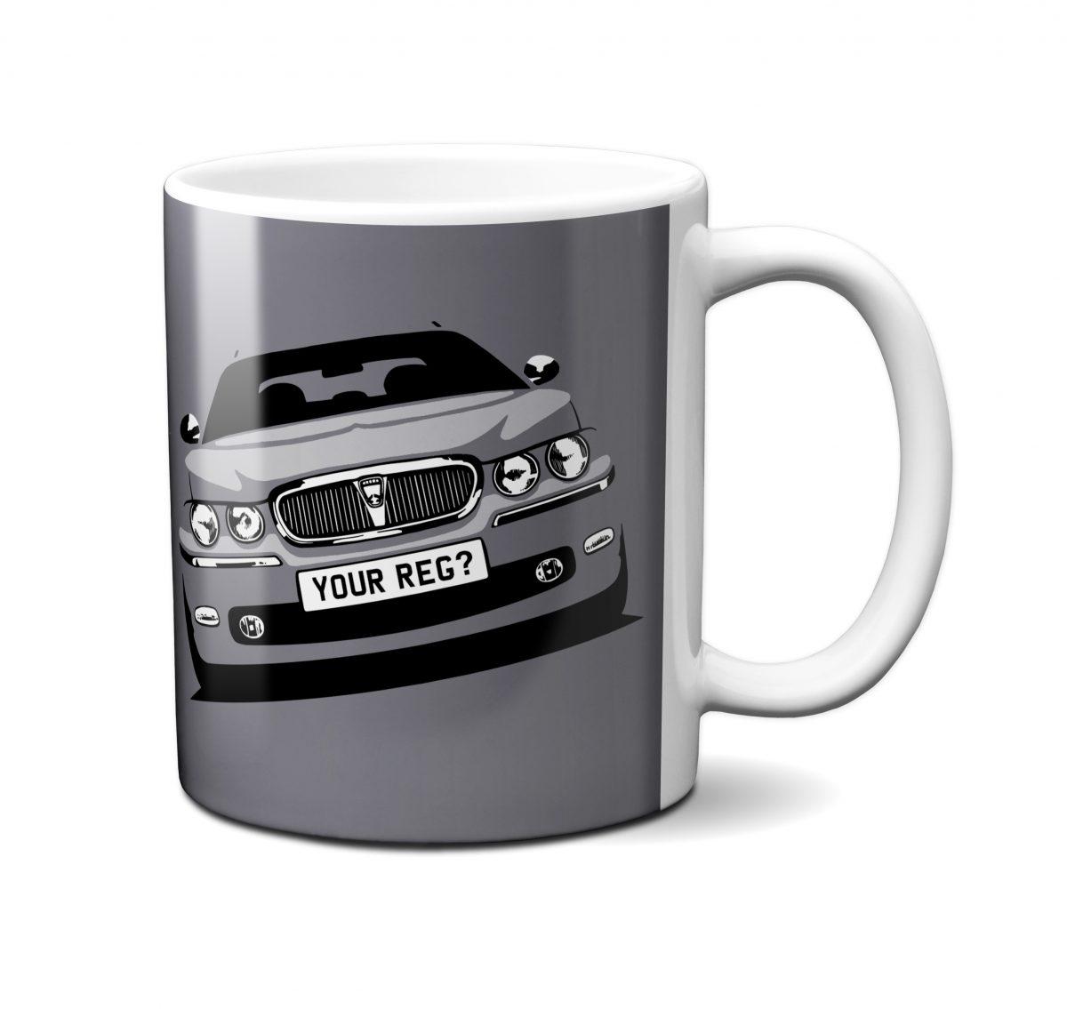 Rover 75 Mug Pewter