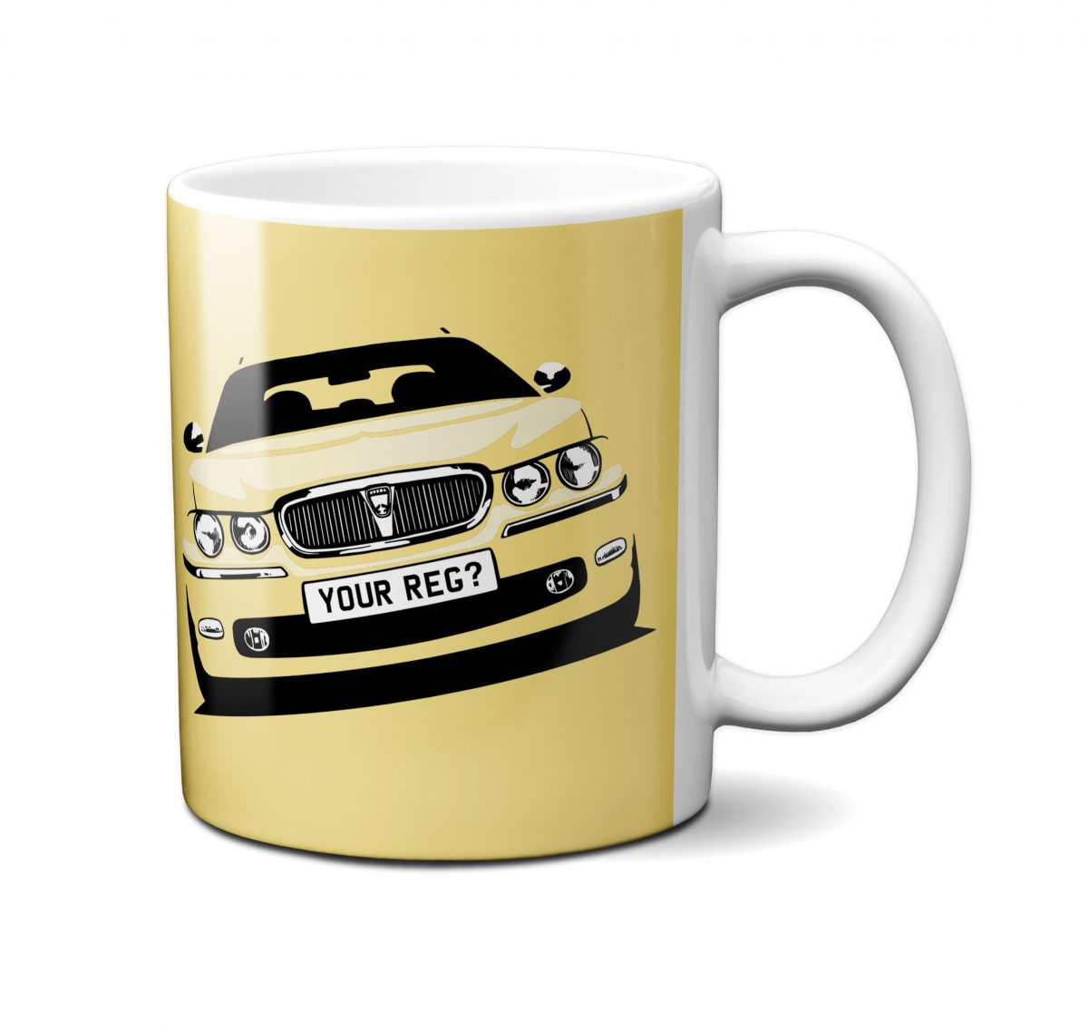 Rover 75 Mug Primrose