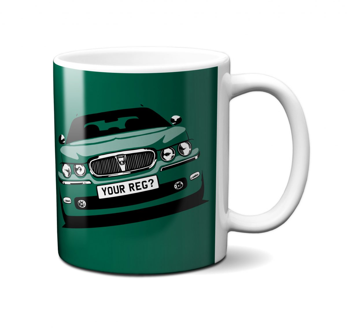 Rover 75 Mug Racing Green