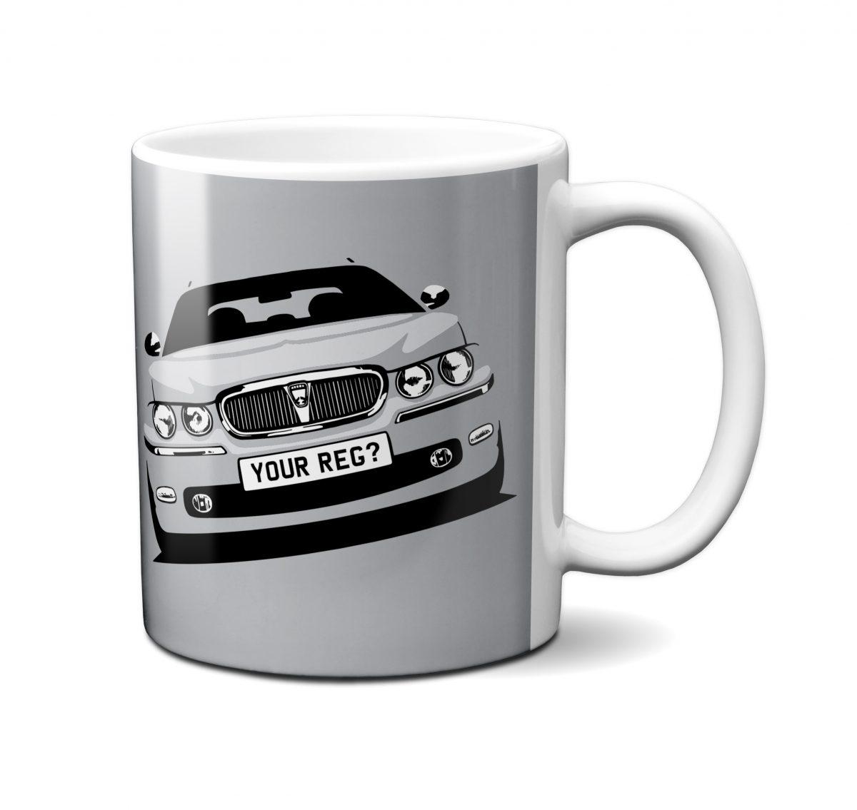 Rover 75 Mug Silver