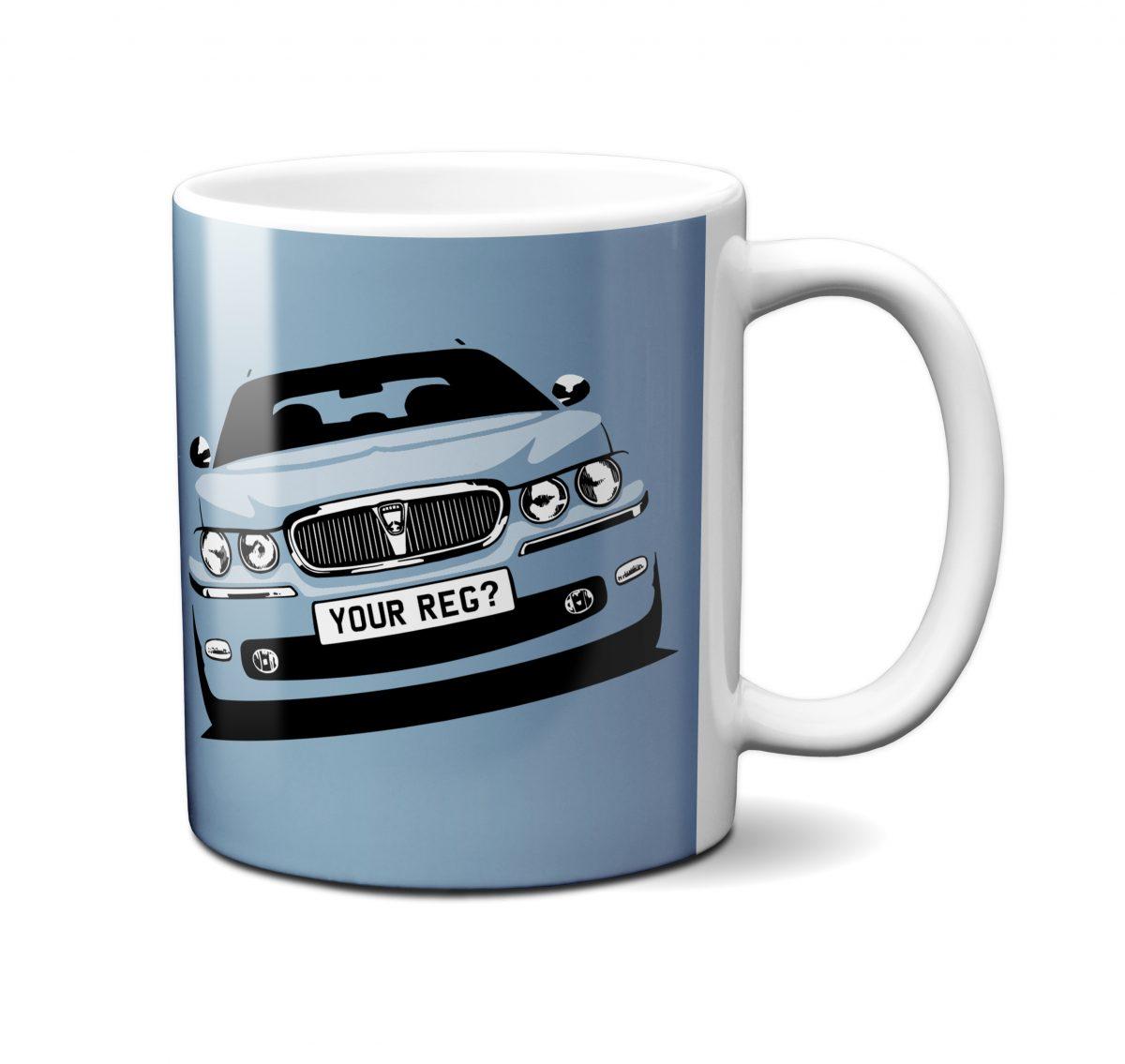 Rover 75 Mug Wedgwood Blue