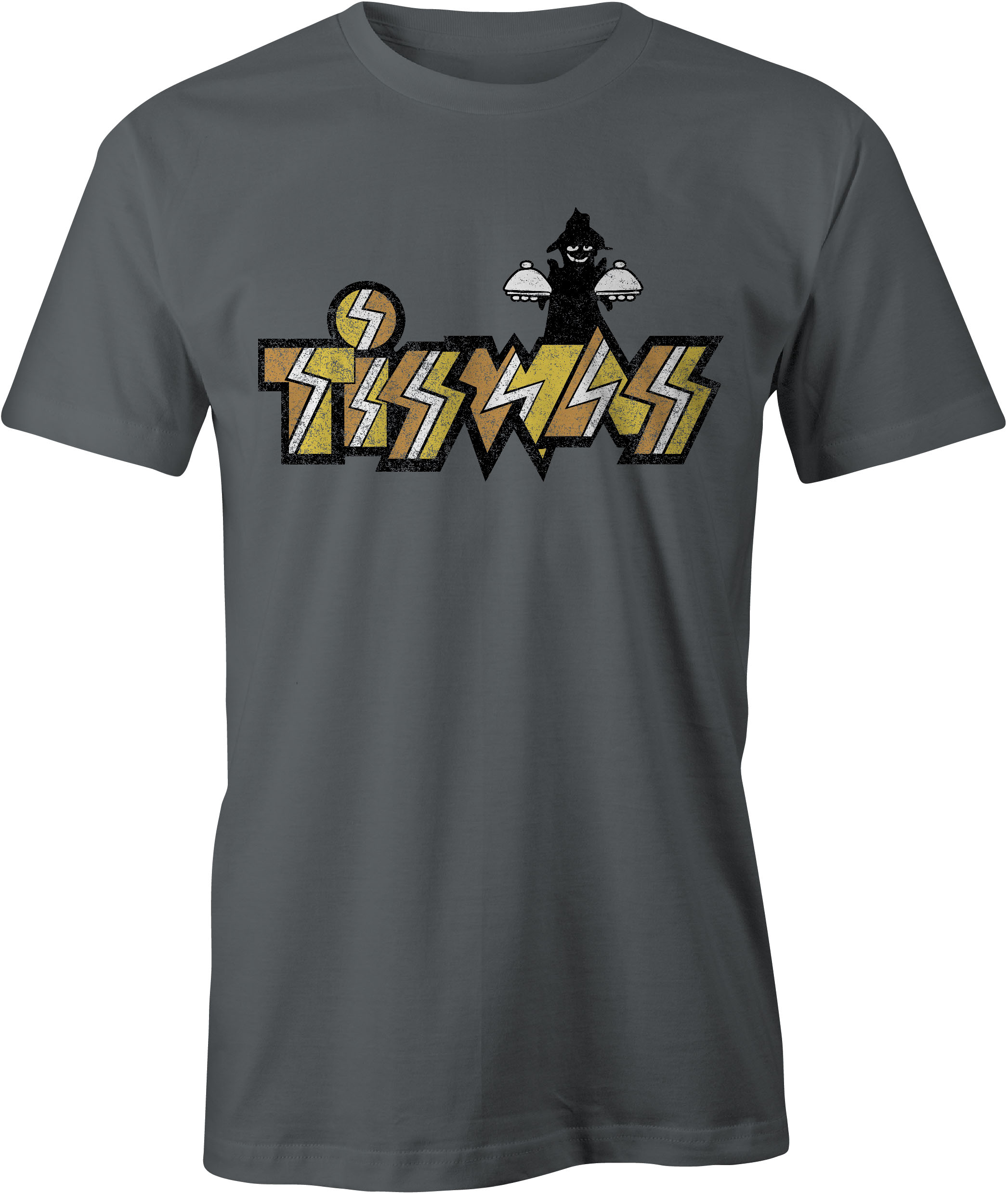 Tiswas T-Shirt Charcoal