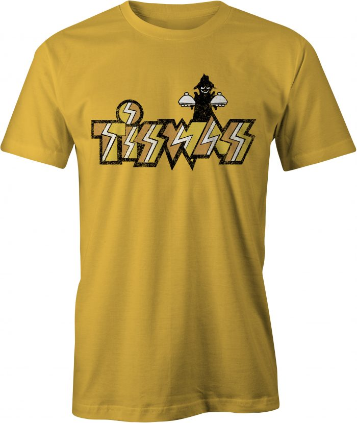 Tiswas T-Shirt Gold