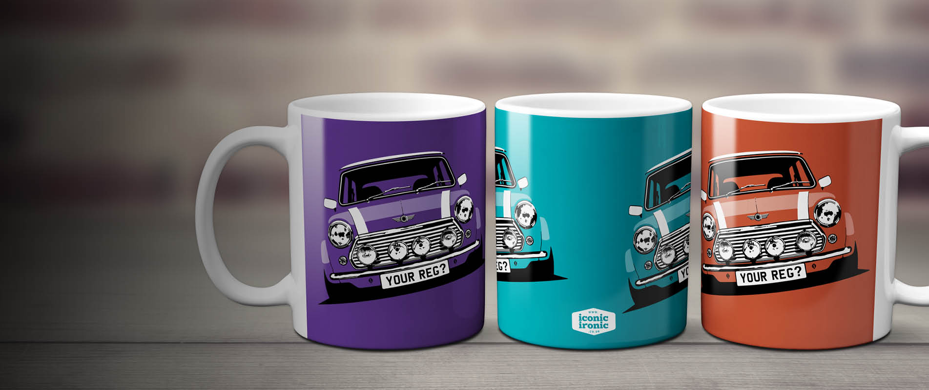 Mini Cooper Mugs header image