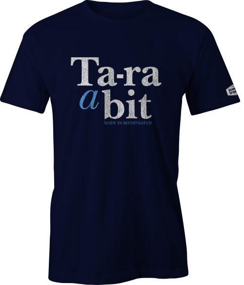 Ta-ra a bit Made In Birmingham t shirt in navy