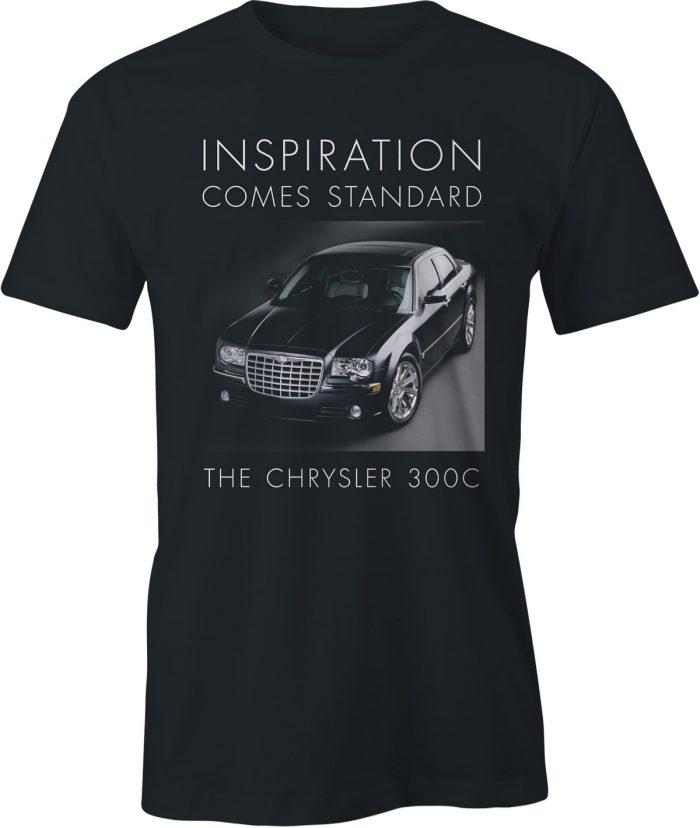 Chrysler 300C t shirt in black