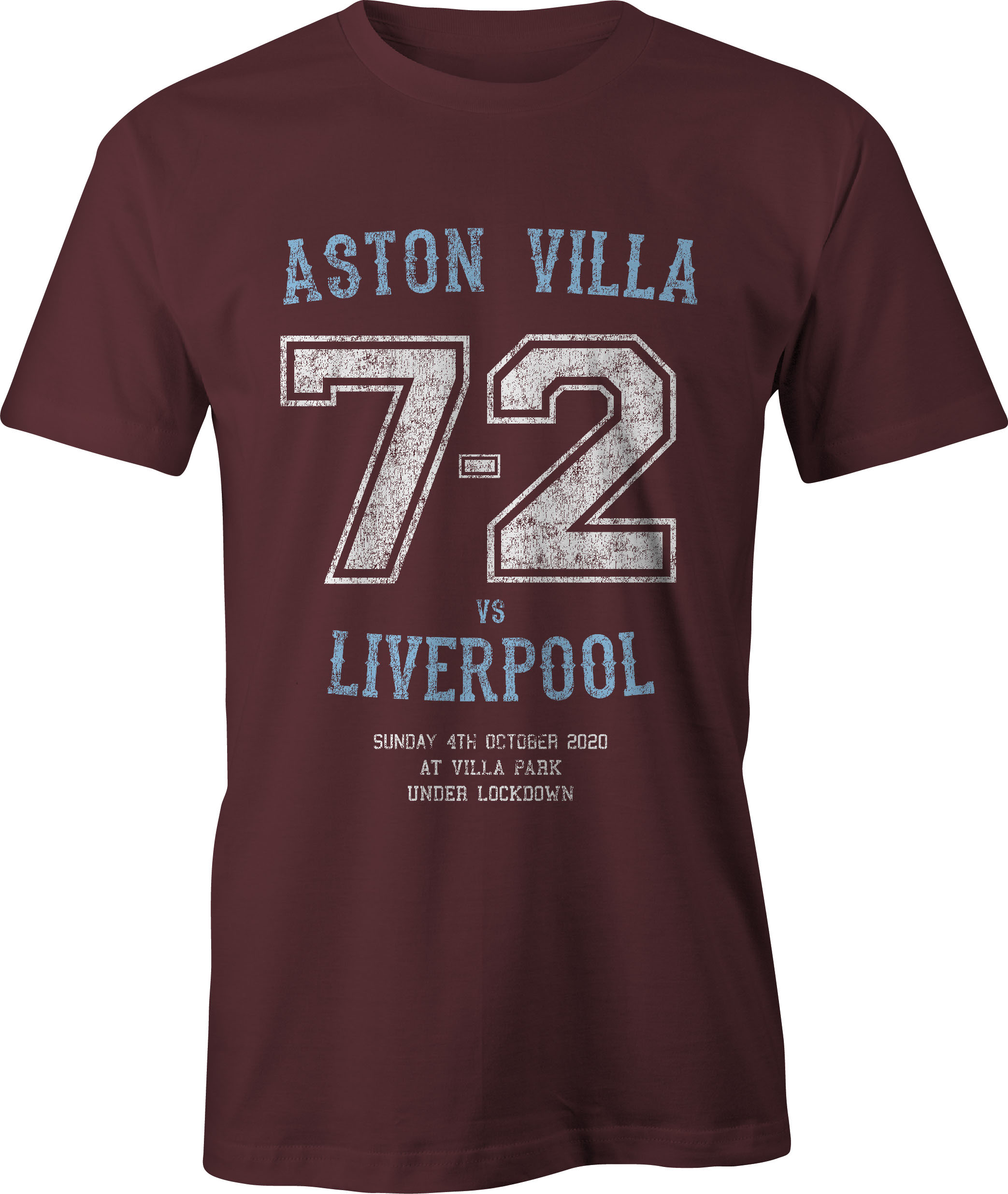 Aston Villa vs Liverpool 7-2 T Shirt – Adults' & Children ...