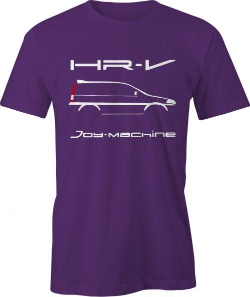 Honda HR-V Graphic T Shirt Purple